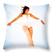 Air Dancer Throw Pillow