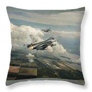 Air Defence Throw Pillow