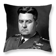 Air Force General Curtis Lemay  Throw Pillow by War Is Hell Store