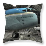 Air Force One - Boeing Vc-137c Sam 26000 Throw Pillow