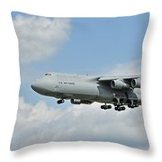 Air Force Plane Throw Pillow