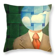 Air Head Throw Pillow