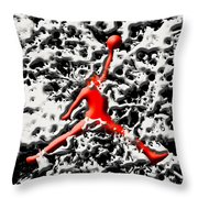 Air Jordan 5f Throw Pillow