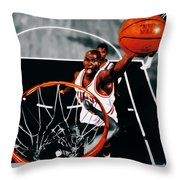 Air Jordan Above The Rim Throw Pillow