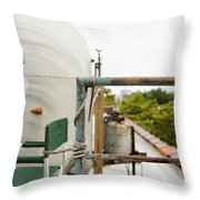 Air Stream Four Throw Pillow