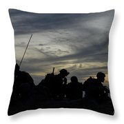 Air Traffic Controllers Set Throw Pillow