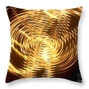 Air Waves Throw Pillow