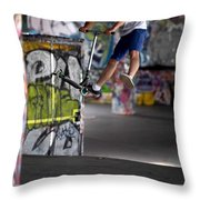 Airborne At Southbank Throw Pillow