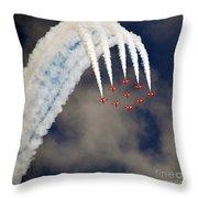 Aircrafts Throw Pillow