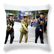 Airforce Military Navy  Throw Pillow