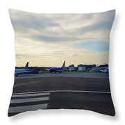 Airline Throw Pillow