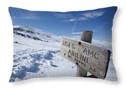 Airline Trail - White Mountains New Hampshire Throw Pillow