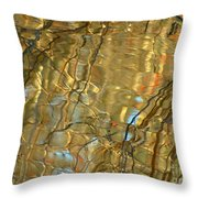 Airline Trail Abstract 2 Throw Pillow
