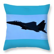 Airplane Jet Throw Pillow
