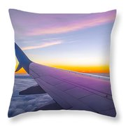 Airplane Window Throw Pillow