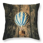 Airs Of An Indoor Retreat Throw Pillow