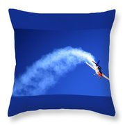 Airshow 6 Photograph Throw Pillow