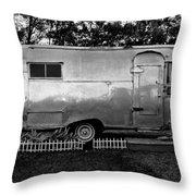 Airstream Life Throw Pillow