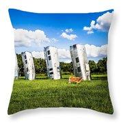 Airstream Ranch Throw Pillow