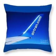 Collectible Airtran Wing Throw Pillow