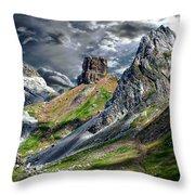 Aisa Valley Scenic Throw Pillow