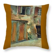 Aix-en-provence Throw Pillow