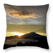 Akinabalu 3 Throw Pillow