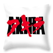 Akira Logo Throw Pillow