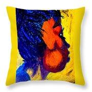 Akwete Throw Pillow