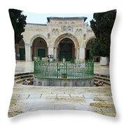 Al Aqsa Main Entrance Throw Pillow
