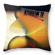 Al Merrick Throw Pillow
