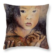 Al Otro Lado Throw Pillow