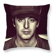 Al Pacino, Actor Throw Pillow