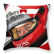 Al Unser Throw Pillow