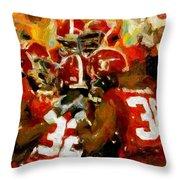 Alabama Celebrate Throw Pillow