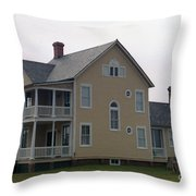 Alabama Coastal Home Throw Pillow