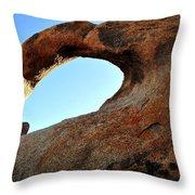 Alabama Hills Arch Throw Pillow