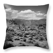 Alabama Hills Throw Pillow