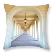 Alabama Shrine Of Most Blessed Sacrament Throw Pillow