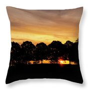 Alabama Sunrise Throw Pillow
