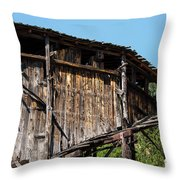 Aladdin Coal Tipple One Throw Pillow