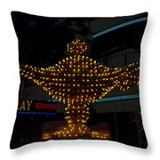 Aladdin Las Vegas Throw Pillow