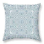 Alahambra Blue Throw Pillow