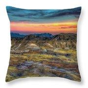 Alamo Creek Sunset Throw Pillow