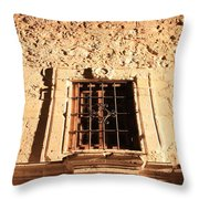 Alamo Night Window Throw Pillow