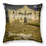 Alamo Reflection Throw Pillow