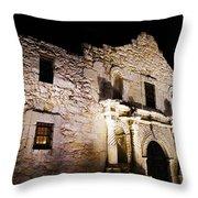 Alamo Remembrance Throw Pillow