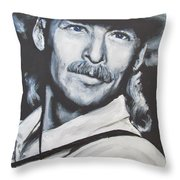 Alan Jackson - In The Real World Throw Pillow