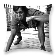 Alan Mathias Throw Pillow