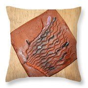 Alarm - Tile Throw Pillow